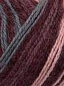 Fiber Content 40% Acrylic, 35% Wool, 25% Alpaca, Pink, Maroon, Brand ICE, Grey, Yarn Thickness 2 Fine  Sport, Baby, fnt2-36984