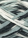 Fiber Content 75% Cotton, 25% Polyamide, White, Yarn Thickness Other, Brand Ice Yarns, Grey, Black, fnt2-38252