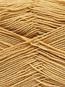 Fiber Content 55% Cotton, 45% Acrylic, Milky Brown, Brand ICE, Yarn Thickness 1 SuperFine  Sock, Fingering, Baby, fnt2-38669