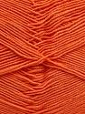 Fiber Content 55% Cotton, 45% Acrylic, Light Orange, Brand ICE, Yarn Thickness 1 SuperFine  Sock, Fingering, Baby, fnt2-38671