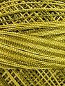 Fiber Content 100% Micro Fiber, Olive Green, Brand ICE, Green Shades, Yarn Thickness 0 Lace  Fingering Crochet Thread, fnt2-40203