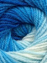 Fiberinnhold 100% Baby akryl, Brand Ice Yarns, Blue Shades, Yarn Thickness 2 Fine  Sport, Baby, fnt2-41724