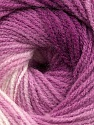 Fiberinnhold 100% Baby akryl, White, Orchid, Maroon, Brand ICE, Yarn Thickness 2 Fine  Sport, Baby, fnt2-41726