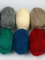 Please note that lengths are not equal for each lot. Περιεχόμενο ίνας 100% Ακρυλικό, Brand Ice Yarns, Dark Colors, Yarn Thickness 1 SuperFine  Sock, Fingering, Baby, fnt2-42181