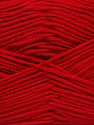 Fiber Content 50% Cotton, 50% Bamboo, Red, Brand ICE, Yarn Thickness 2 Fine  Sport, Baby, fnt2-42214