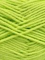 Fiber Content 50% Acrylic, 50% Polyamide, Brand ICE, Baby Green, Yarn Thickness 3 Light  DK, Light, Worsted, fnt2-42383