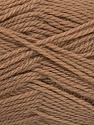 Fiber Content 50% Acrylic, 30% Wool, 20% Polyamide, Brand ICE, Camel, Yarn Thickness 2 Fine  Sport, Baby, fnt2-42411