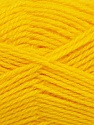 Fiber Content 50% Acrylic, 30% Wool, 20% Polyamide, Yellow, Brand ICE, Yarn Thickness 2 Fine  Sport, Baby, fnt2-42418