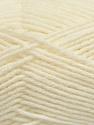 Fiber Content 50% Acrylic, 50% Wool, Light Cream, Brand ICE, Yarn Thickness 4 Medium  Worsted, Afghan, Aran, fnt2-42536