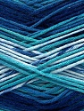 Fiber Content 100% AntiBacterial Micro Dralon, Brand Ice Yarns, Blue Shades, Yarn Thickness 2 Fine  Sport, Baby, fnt2-42654