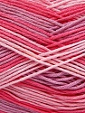 Fiber Content 100% AntiBacterial Micro Dralon, Pink Shades, Lilac, Brand ICE, Yarn Thickness 2 Fine  Sport, Baby, fnt2-42659
