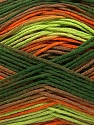 Fiber Content 100% AntiBacterial Micro Dralon, Orange, Brand ICE, Green Shades, Brown, Yarn Thickness 2 Fine  Sport, Baby, fnt2-42663