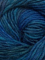 Fiber Content 70% Dralon, 30% Wool, Brand ICE, Blue Shades, Yarn Thickness 4 Medium  Worsted, Afghan, Aran, fnt2-42698