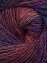 Fiber Content 70% Dralon, 30% Wool, Purple, Maroon, Brand Ice Yarns, Blue, Yarn Thickness 4 Medium  Worsted, Afghan, Aran, fnt2-42701