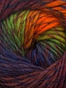 Fiber Content 70% Dralon, 30% Wool, Orange, Navy, Maroon, Brand Ice Yarns, Green, Burgundy, Yarn Thickness 4 Medium  Worsted, Afghan, Aran, fnt2-42705