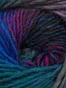 Fiber Content 70% Dralon, 30% Wool, Teal, Purple, Lilac, Brand Ice Yarns, Grey, Blue, Yarn Thickness 4 Medium  Worsted, Afghan, Aran, fnt2-42708