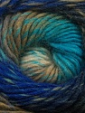 Fiber Content 70% Dralon, 30% Wool, Turquoise, Brand ICE, Grey, Camel, Blue Shades, Yarn Thickness 4 Medium  Worsted, Afghan, Aran, fnt2-42762
