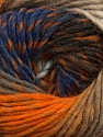Fiber Content 70% Dralon, 30% Wool, Orange, Brand ICE, Camel, Blue, Beige, Yarn Thickness 4 Medium  Worsted, Afghan, Aran, fnt2-42763
