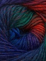 Fiber Content 70% Dralon, 30% Wool, Brand ICE, Green, Copper, Blue Shades, Yarn Thickness 4 Medium  Worsted, Afghan, Aran, fnt2-42773