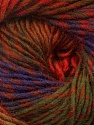 Fiber Content 70% Dralon, 30% Wool, Red, Purple, Brand Ice Yarns, Green Shades, Brown Shades, Yarn Thickness 4 Medium  Worsted, Afghan, Aran, fnt2-42775