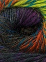Fiber Content 70% Dralon, 30% Wool, Purple, Brand Ice Yarns, Green, Brown, Black, Yarn Thickness 4 Medium  Worsted, Afghan, Aran, fnt2-42776