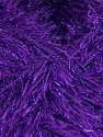 Fiber Content 75% Polyester, 25% Metallic Lurex, Purple, Brand ICE, Yarn Thickness 5 Bulky  Chunky, Craft, Rug, fnt2-42809