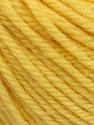 SUPERWASH WOOL BULKY is a bulky weight 100% superwash wool yarn. Perfect stitch definition, and a soft-but-sturdy finished fabric. Projects knit and crocheted in SUPERWASH WOOL BULKY are machine washable! Lay flat to dry. Fiber Content 100% Superwash Wool, Yellow, Brand ICE, Yarn Thickness 5 Bulky  Chunky, Craft, Rug, fnt2-42831