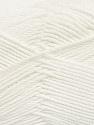 Fiber Content 50% Bamboo, 50% Viscose, White, Brand ICE, Yarn Thickness 2 Fine  Sport, Baby, fnt2-43031