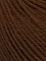 Machine washable pure merino wool. Lay flat to dry Fiber Content 100% Superwash Merino Wool, Brand Ice Yarns, Brown, Yarn Thickness 4 Medium  Worsted, Afghan, Aran, fnt2-43479