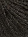 Fiber Content 50% Virgin Wool, 40% Alpaca, 10% Acrylic, Brand Ice Yarns, Dark Brown, Yarn Thickness 5 Bulky  Chunky, Craft, Rug, fnt2-43726