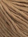 Composição 50% Lã Virgem, 40% Alpaca, 10% Acrílico, Brand Ice Yarns, Camel, Yarn Thickness 5 Bulky  Chunky, Craft, Rug, fnt2-43727