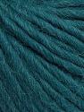 Composição 50% Lã Virgem, 40% Alpaca, 10% Acrílico, Teal, Brand Ice Yarns, Yarn Thickness 5 Bulky  Chunky, Craft, Rug, fnt2-43734