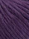 Composição 50% Lã Virgem, 40% Alpaca, 10% Acrílico, Purple, Brand Ice Yarns, Yarn Thickness 5 Bulky  Chunky, Craft, Rug, fnt2-43740