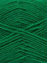 Machine washable. Lay flat to dry Fiber Content 60% Superwash Virgin Wool, 40% Acrylic, Brand Ice Yarns, Dark Green, Yarn Thickness 2 Fine  Sport, Baby, fnt2-43797