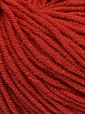 Fiber Content 50% Cotton, 50% Acrylic, Marsala Red, Brand Ice Yarns, Yarn Thickness 3 Light  DK, Light, Worsted, fnt2-43833