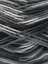Vezelgehalte 100% Premium acryl, White, Brand Ice Yarns, Grey, Black, Yarn Thickness 3 Light  DK, Light, Worsted, fnt2-43856