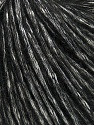 Fiber Content 60% Cotton, 5% Polyamide, 35% Alpaca Superfine, White, Brand Ice Yarns, Black, Yarn Thickness 3 Light  DK, Light, Worsted, fnt2-44011