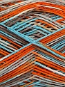 Fiber Content 100% Acrylic, White, Orange, Light Blue, Brand Ice Yarns, Camel, fnt2-44049