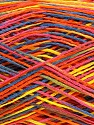 Fiber Content 100% Acrylic, Yellow, Pink, Orange, Brand Ice Yarns, Blue, fnt2-44051