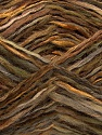 Fiber Content 52% Wool, 48% Acrylic, Brand Ice Yarns, Green Shades, Brown Shades, Yarn Thickness 3 Light  DK, Light, Worsted, fnt2-44068