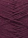 Fiber Content 100% Cotton, Purple, Brand ICE, Yarn Thickness 3 Light  DK, Light, Worsted, fnt2-44319