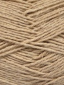 Fiber Content 100% Cotton, Brand ICE, Beige, Yarn Thickness 3 Light  DK, Light, Worsted, fnt2-44323
