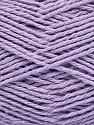 Fiber Content 100% Cotton, Light Lilac, Brand ICE, Yarn Thickness 3 Light  DK, Light, Worsted, fnt2-44331