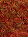 Fiber Content 47% Acrylic, 25% Wool, 18% Polyamide, Red, Orange, Brand Ice Yarns, Green, fnt2-44664