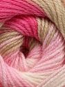 Fiber Content 100% Acrylic, Pink Shades, Brand Ice Yarns, Beige, fnt2-44707