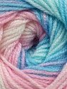 Fiber Content 100% Acrylic, Pink Shades, Brand Ice Yarns, Blue Shades, fnt2-44709