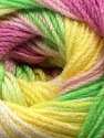 Fiber Content 100% Acrylic, Yellow, White, Orchid, Brand Ice Yarns, Green, fnt2-44713