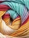 Fiber Content 100% Acrylic, Yellow, Turquoise, Brand Ice Yarns, Burgundy, Beige, fnt2-44714