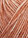 Fiber Content 100% Acrylic, Salmon melange, Brand Ice Yarns, Yarn Thickness 2 Fine  Sport, Baby, fnt2-44739