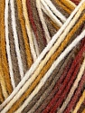 Kuitupitoisuus 100% Akryyli, White, Khaki, Brand Ice Yarns, Gold, Copper, fnt2-44742